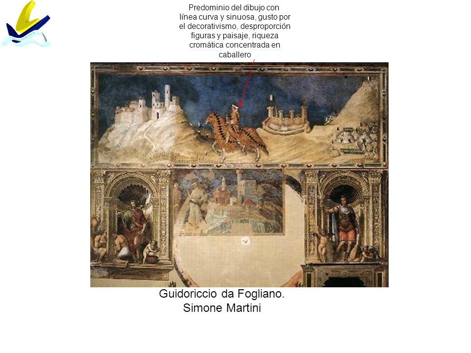 Guidoriccio da Fogliano. Simone Martini
