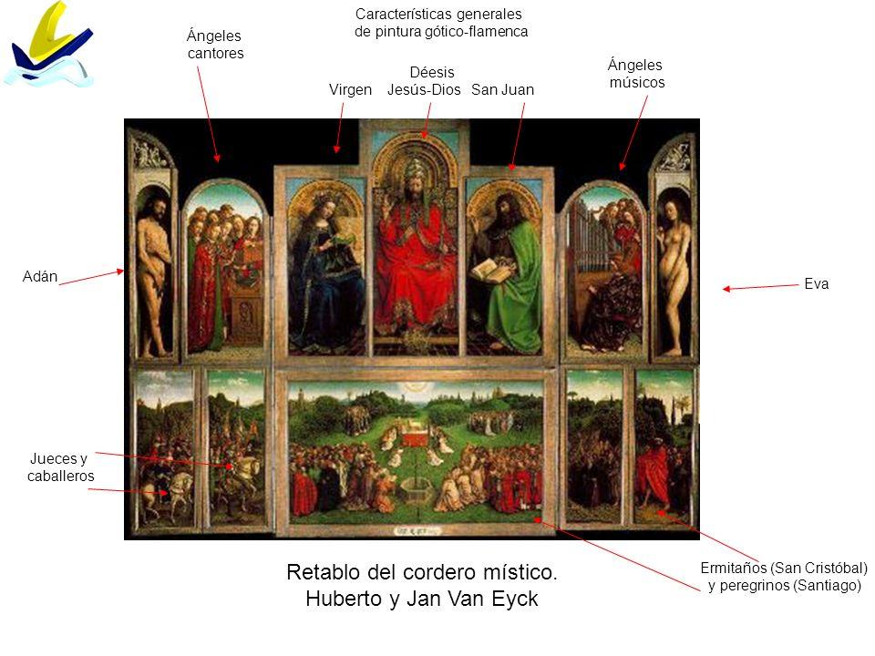 Retablo del cordero místico. Huberto y Jan Van Eyck