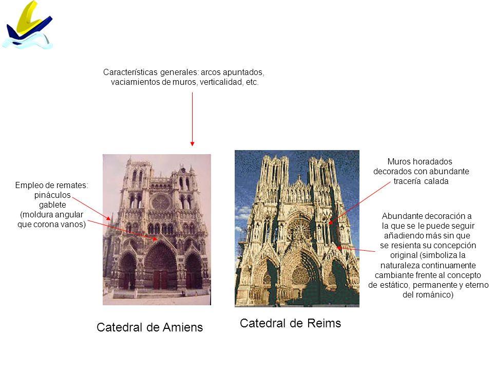 Catedral de Reims Catedral de Amiens