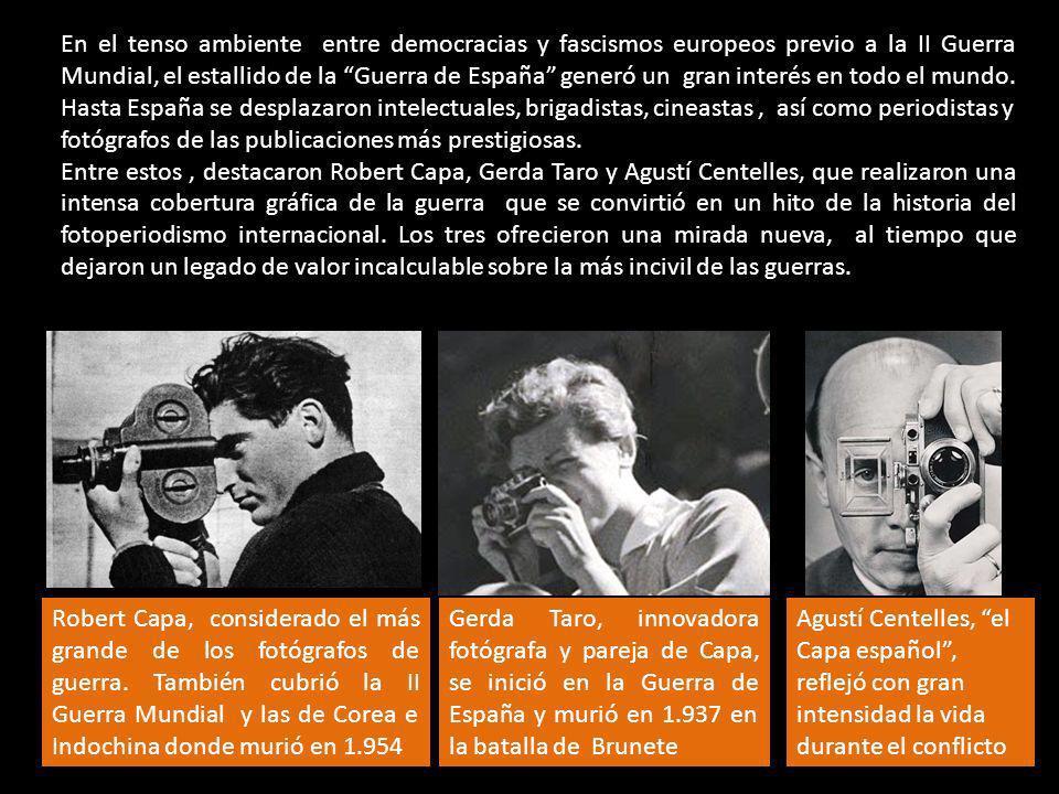 En el tenso ambiente entre democracias y fascismos europeos previo a la II Guerra Mundial, el estallido de la Guerra de España generó un gran interés en todo el mundo.