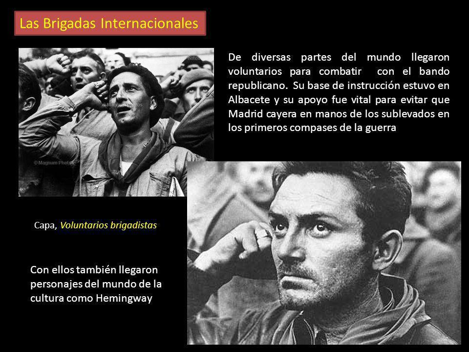 Las Brigadas Internacionales