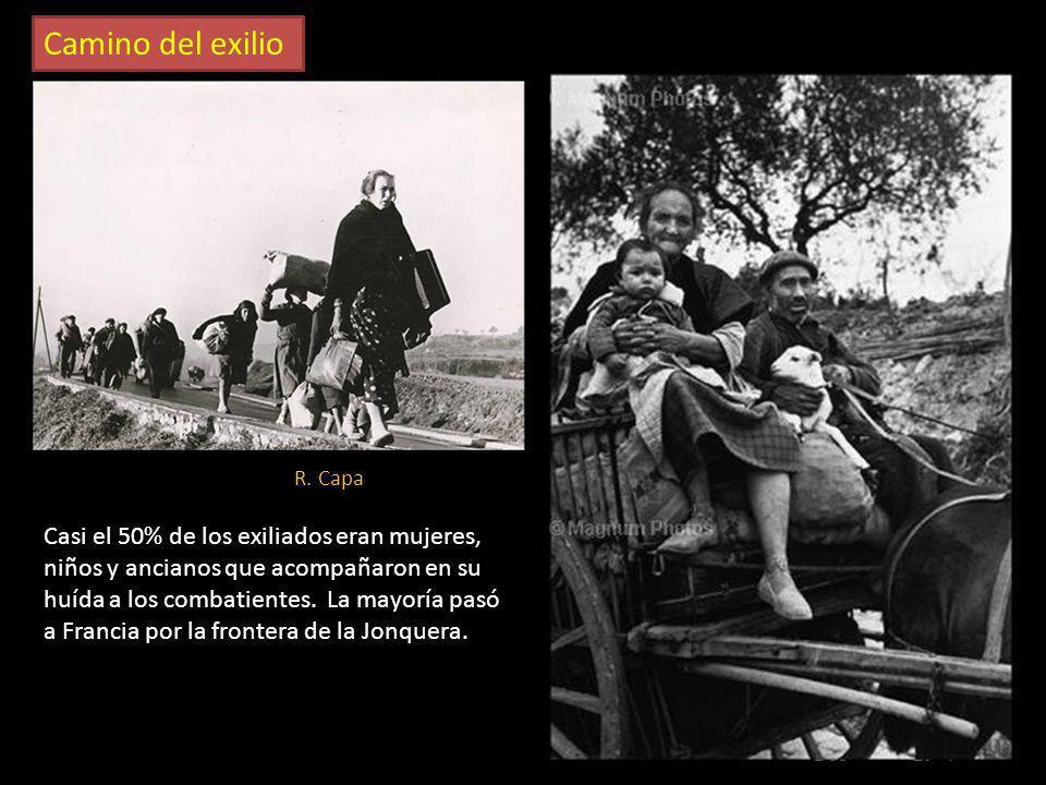 Camino del exilio R. Capa.