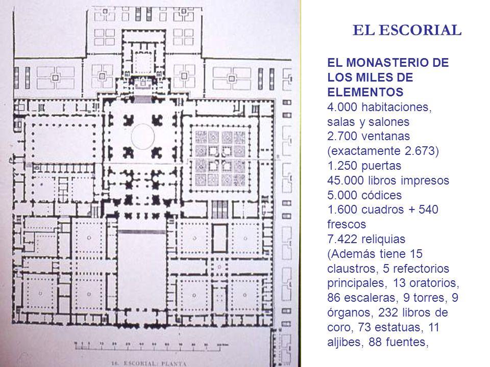 EL ESCORIAL EL MONASTERIO DE LOS MILES DE ELEMENTOS