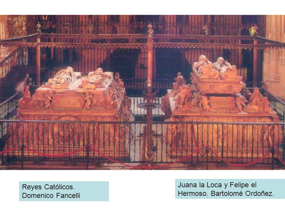 Juana la Loca y Felipe el Hermoso. Bartolomé Ordoñez.