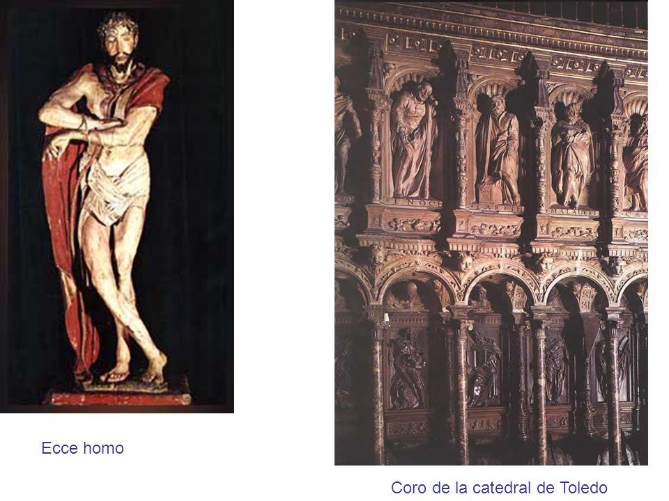 Ecce homo Coro de la catedral de Toledo