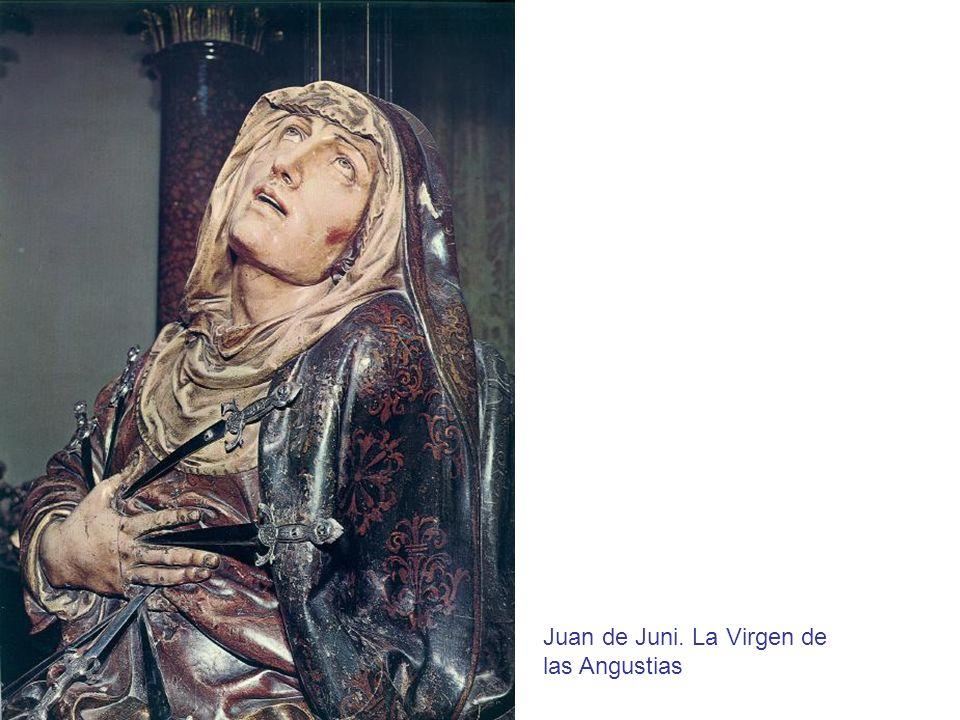 Juan de Juni. La Virgen de las Angustias