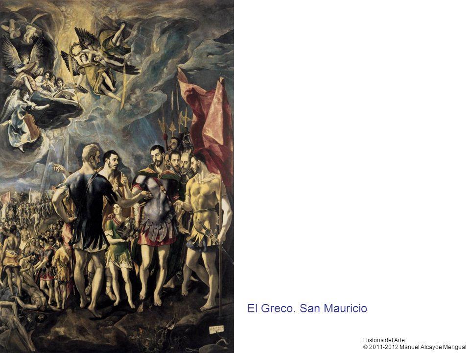 El Greco. San Mauricio Historia del Arte