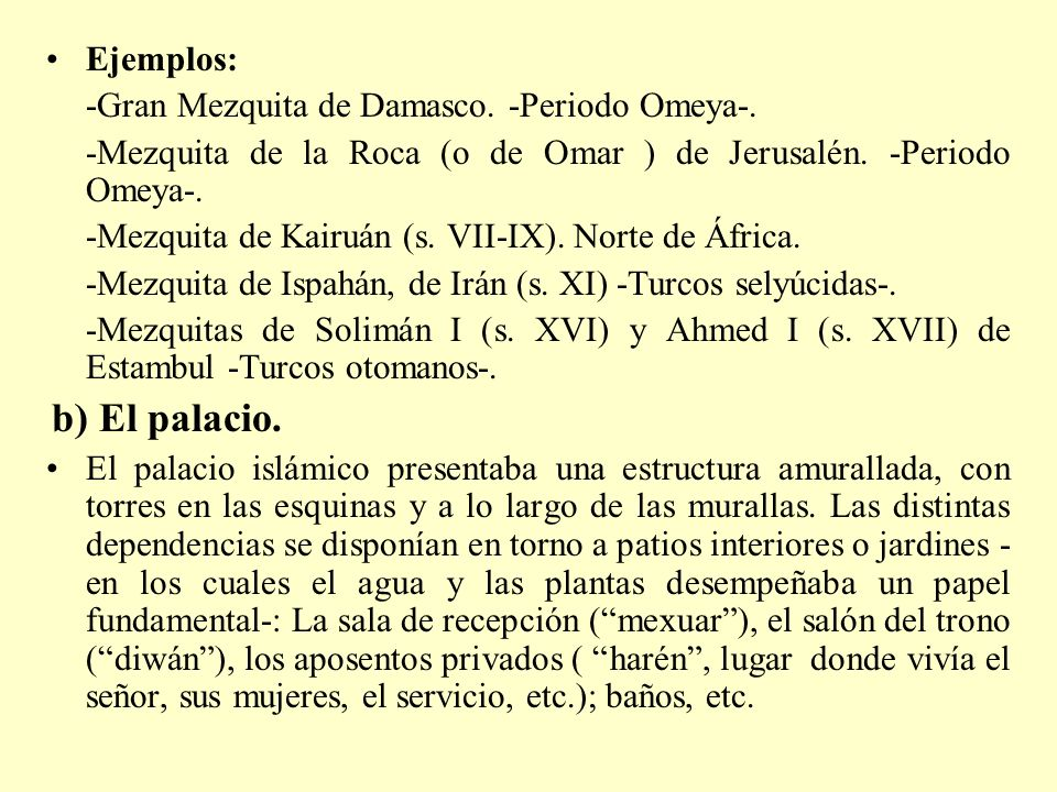-Gran Mezquita de Damasco. -Periodo Omeya-.