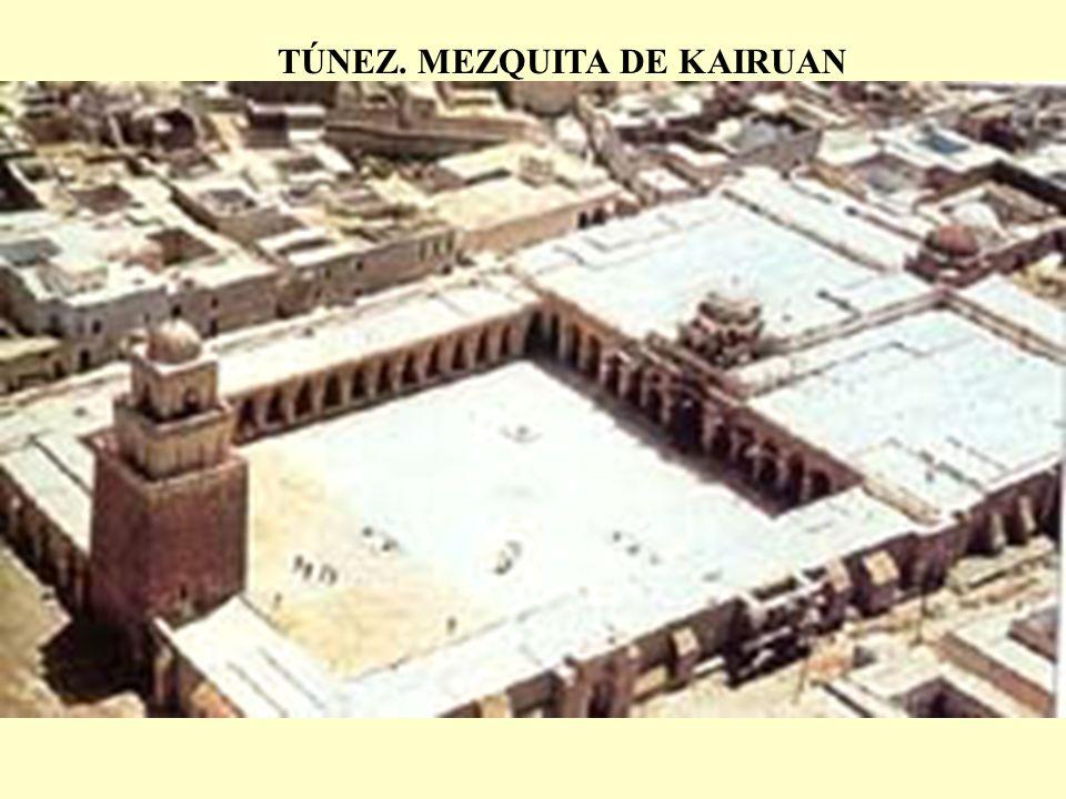 TÚNEZ. MEZQUITA DE KAIRUAN