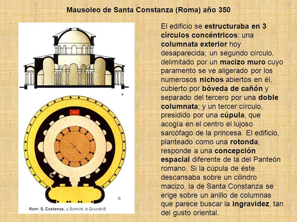 Mausoleo de Santa Constanza (Roma) año 350