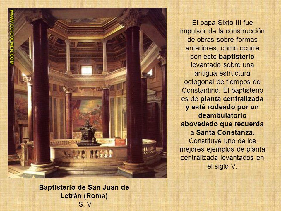 Baptisterio de San Juan de Letrán (Roma) S. V
