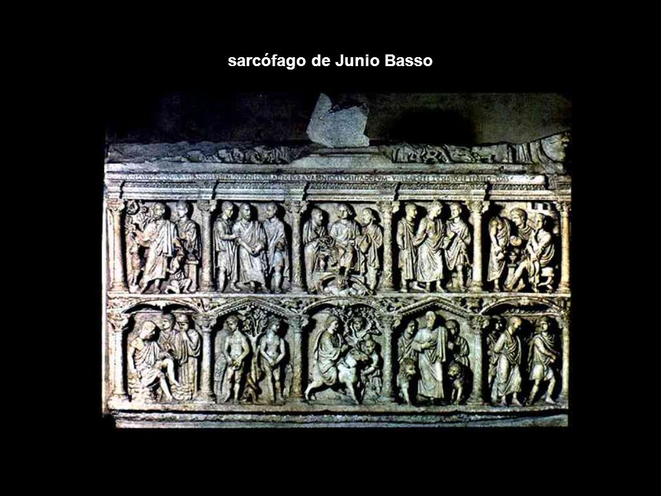 sarcófago de Junio Basso