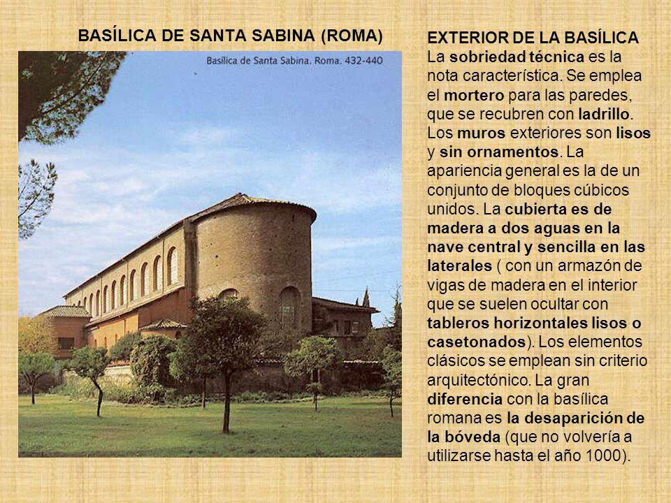 BASÍLICA DE SANTA SABINA (ROMA)