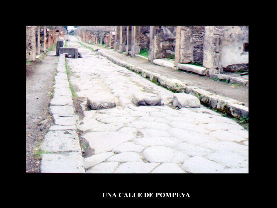 UNA CALLE DE POMPEYA