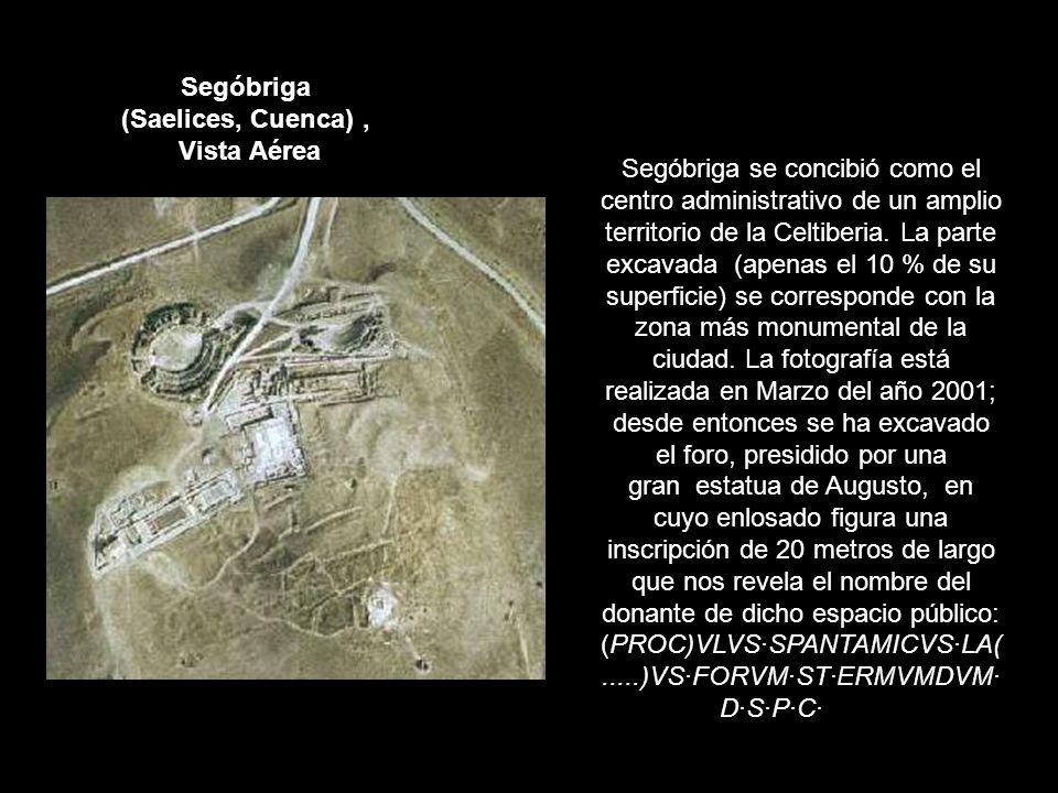 Segóbriga (Saelices, Cuenca) , Vista Aérea