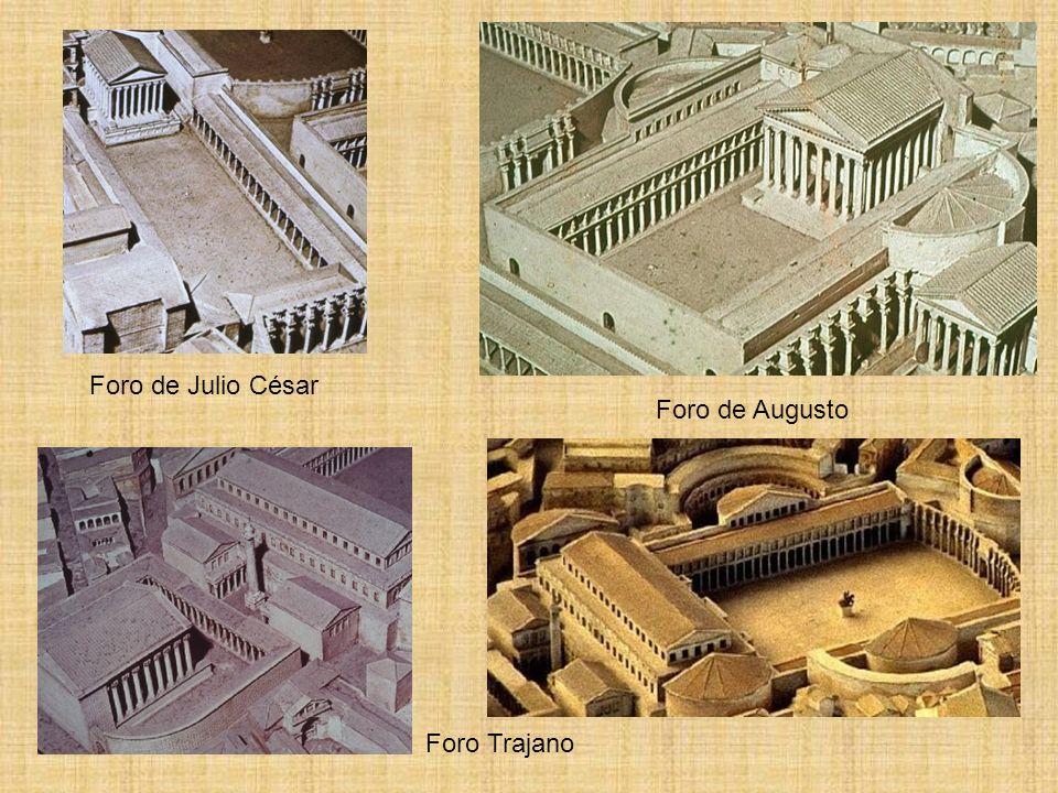 Foro de Julio César Foro de Augusto Foro Trajano