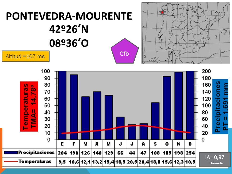 PONTEVEDRA-MOURENTE 42º26'N 08º36'O