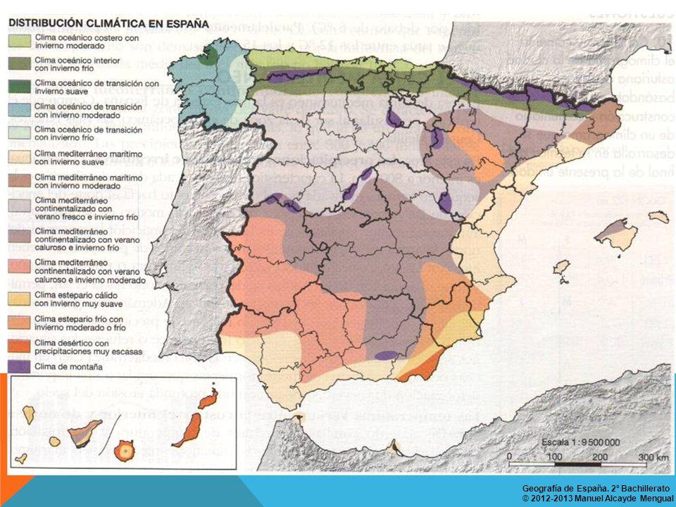 Geografía de España. 2º Bachillerato