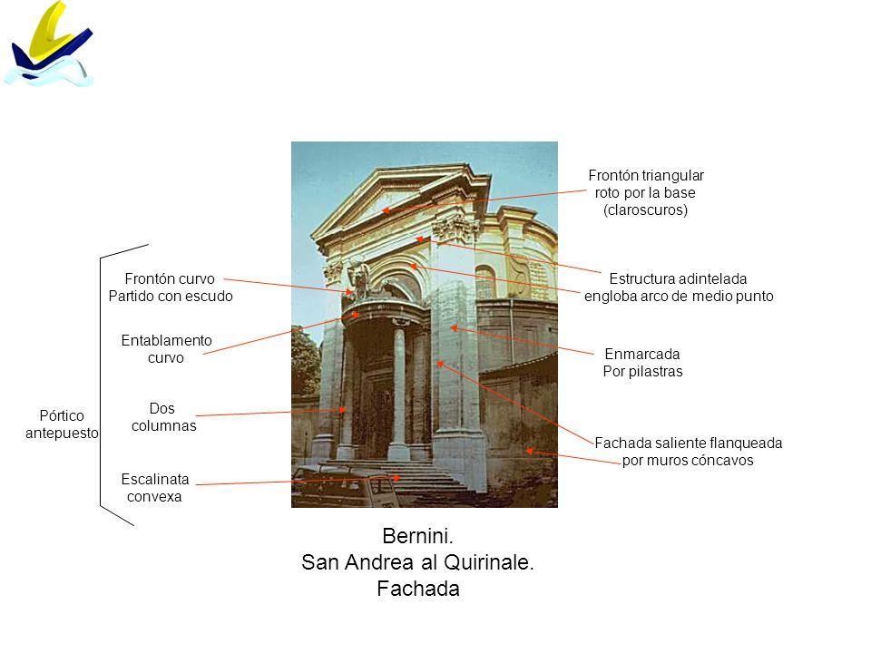 San Andrea al Quirinale. Fachada
