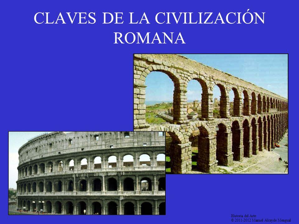 CLAVES DE LA CIVILIZACIÓN ROMANA