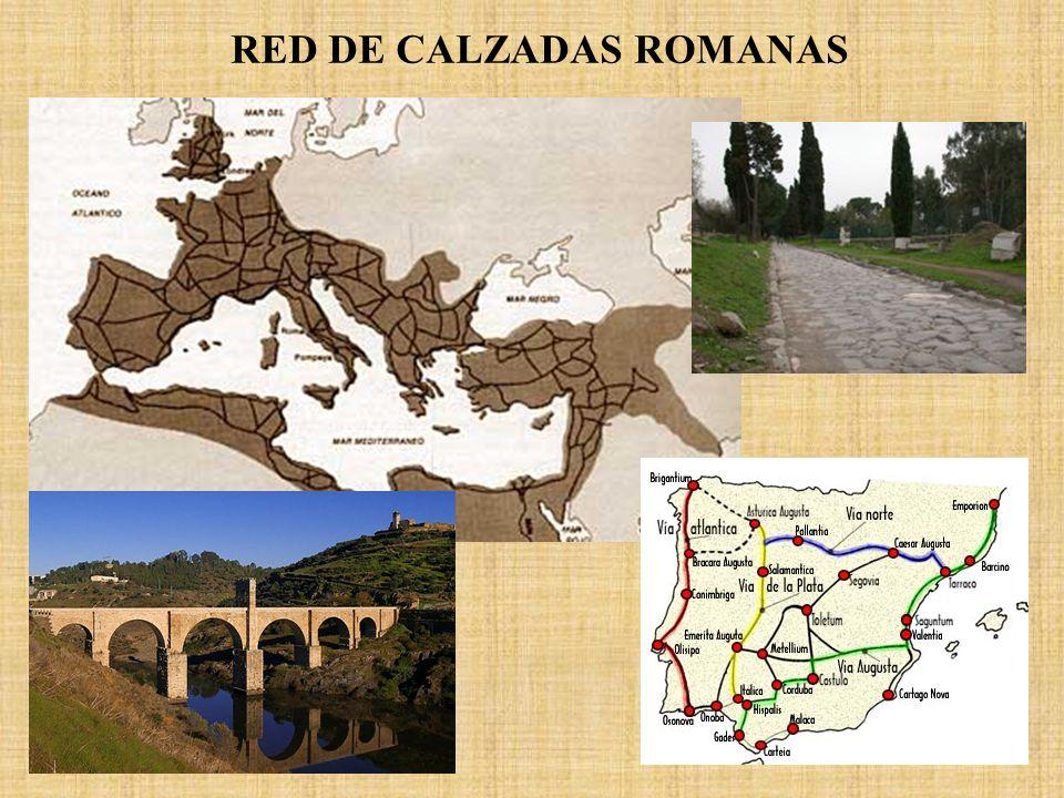 RED DE CALZADAS ROMANAS