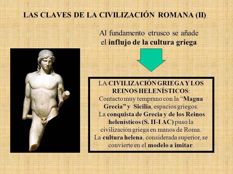 LAS CLAVES DE LA CIVILIZACIÓN ROMANA (II)