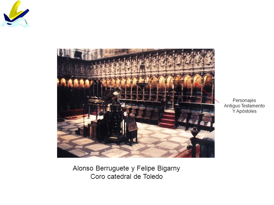 Alonso Berruguete y Felipe Bigarny Coro catedral de Toledo