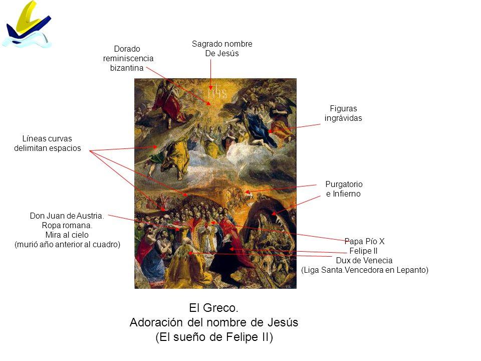 Adoración del nombre de Jesús (El sueño de Felipe II)