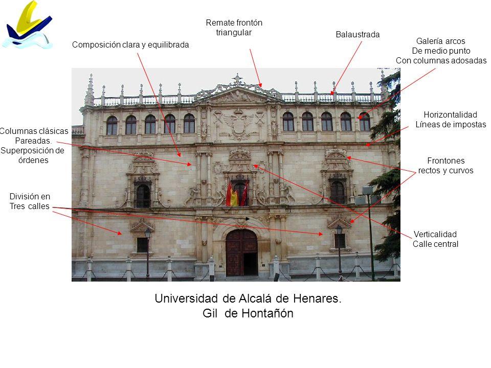 Universidad de Alcalá de Henares. Gil de Hontañón