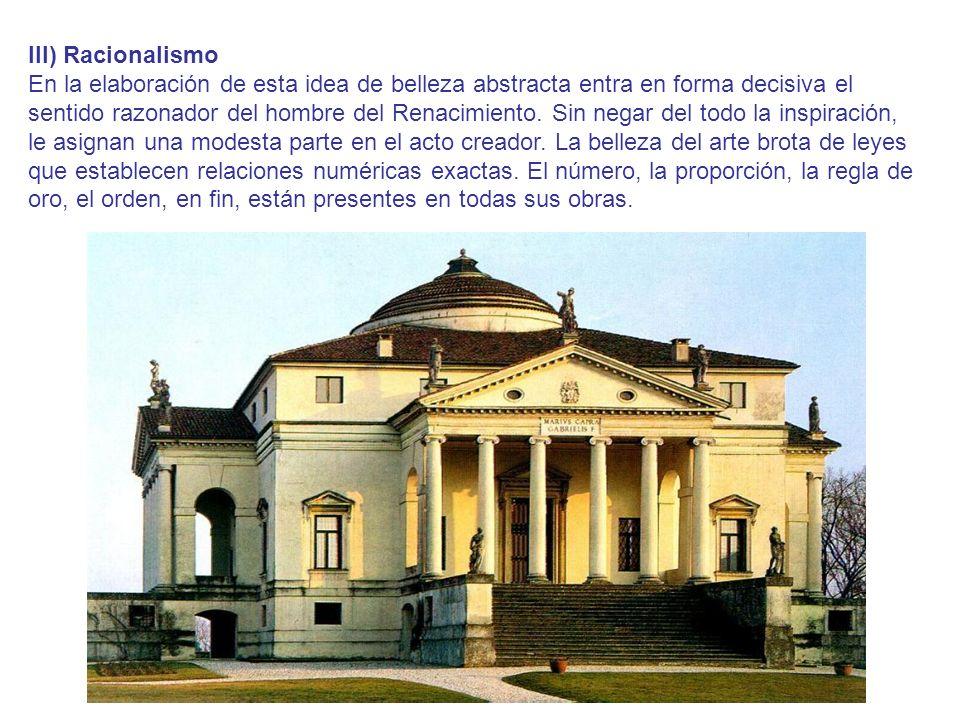 III) Racionalismo