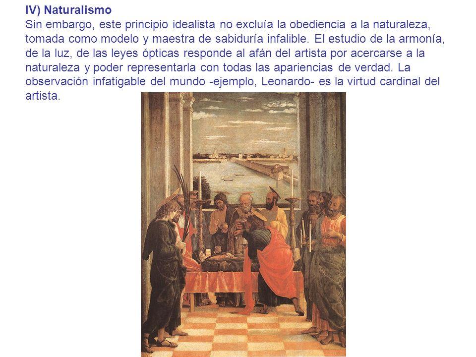 IV) Naturalismo