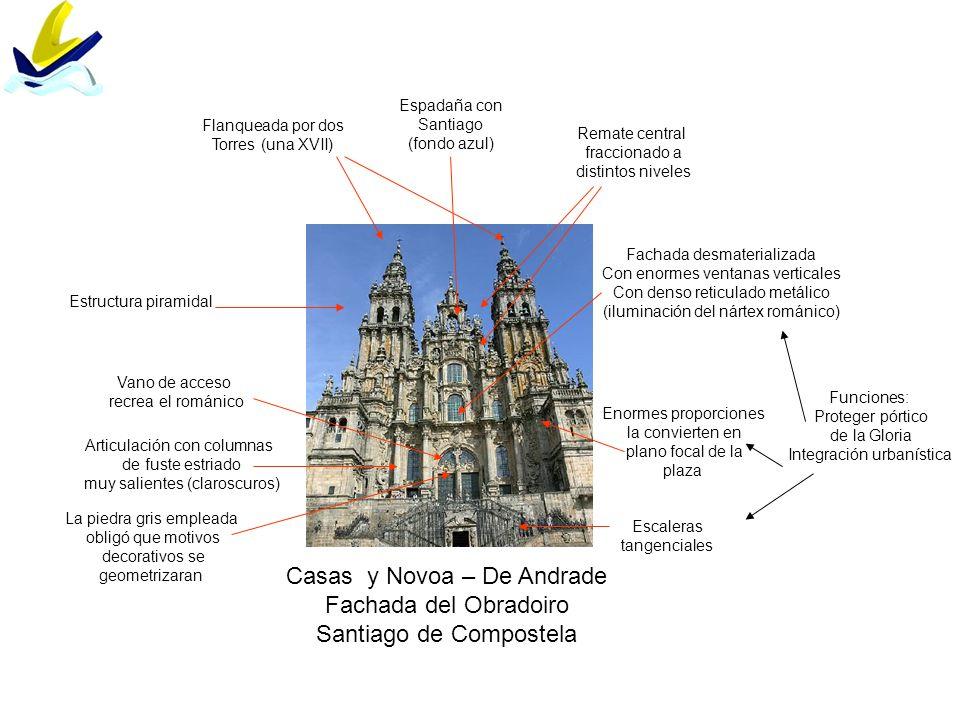 Casas y Novoa – De Andrade Fachada del Obradoiro