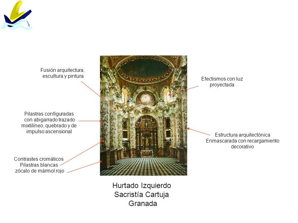 Hurtado Izquierdo Sacristía Cartuja Granada Fusión arquitectura,