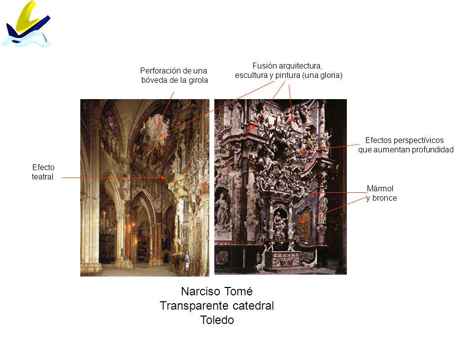 Transparente catedral Toledo