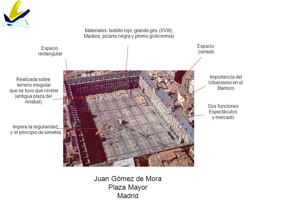 Juan Gómez de Mora Plaza Mayor Madrid