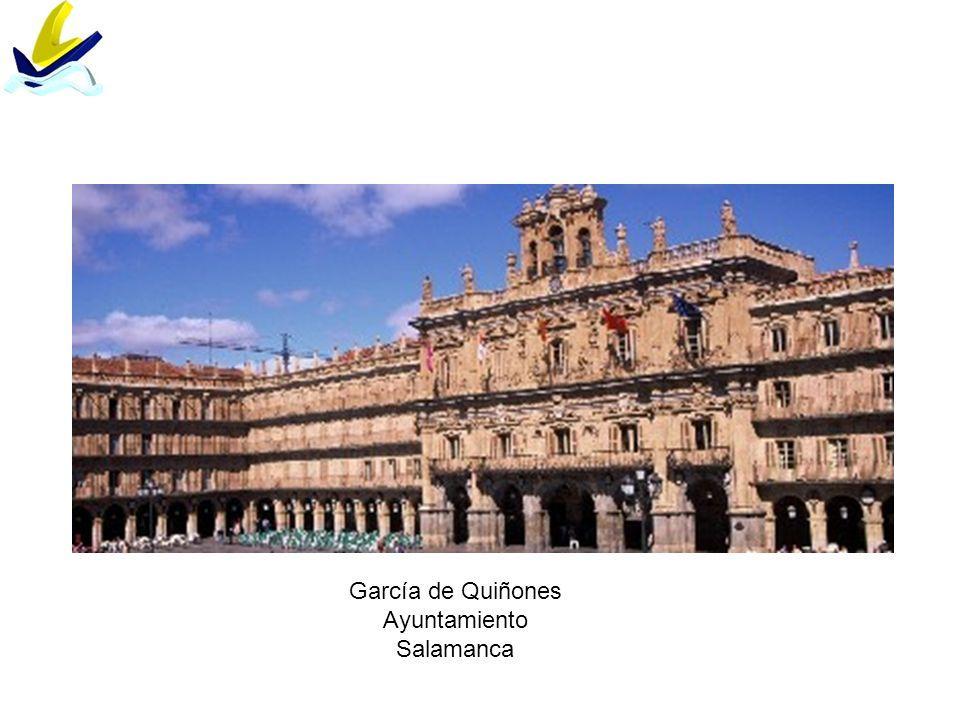García de Quiñones Ayuntamiento Salamanca
