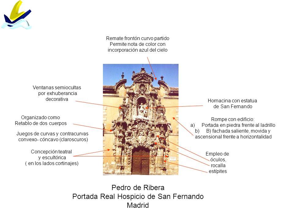 Portada Real Hospicio de San Fernando Madrid