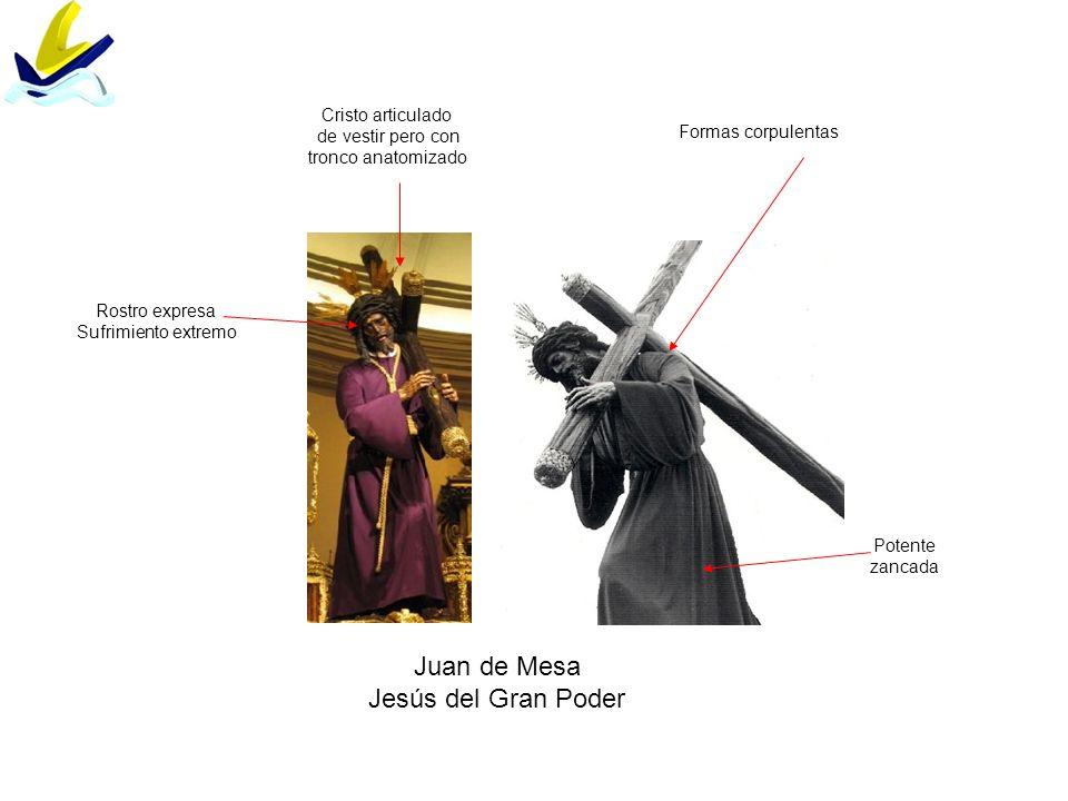 Juan de Mesa Jesús del Gran Poder Cristo articulado de vestir pero con
