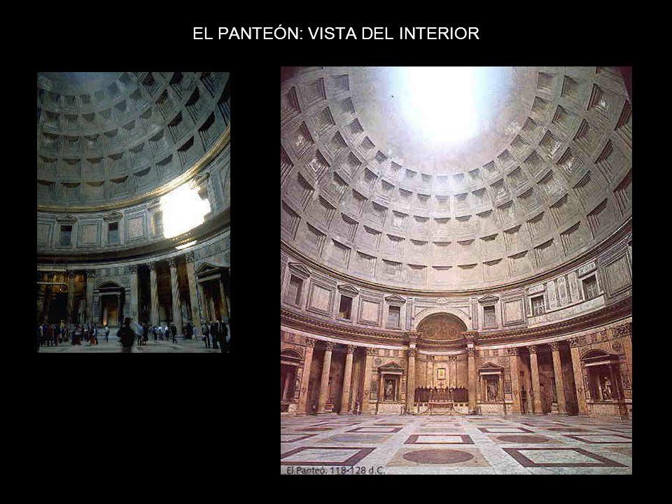 EL PANTEÓN: VISTA DEL INTERIOR