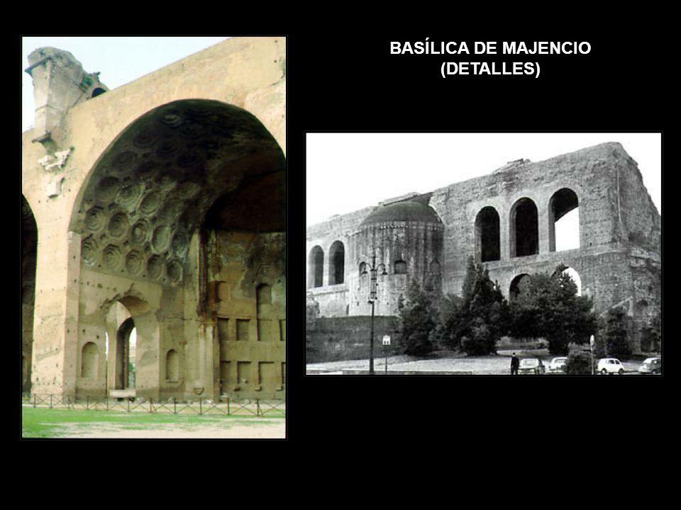 BASÍLICA DE MAJENCIO (DETALLES)
