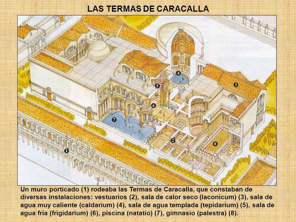 LAS TERMAS DE CARACALLA