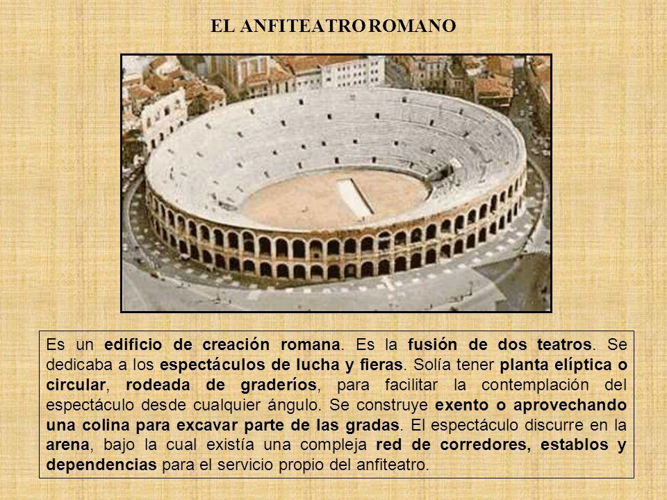 EL ANFITEATRO ROMANO