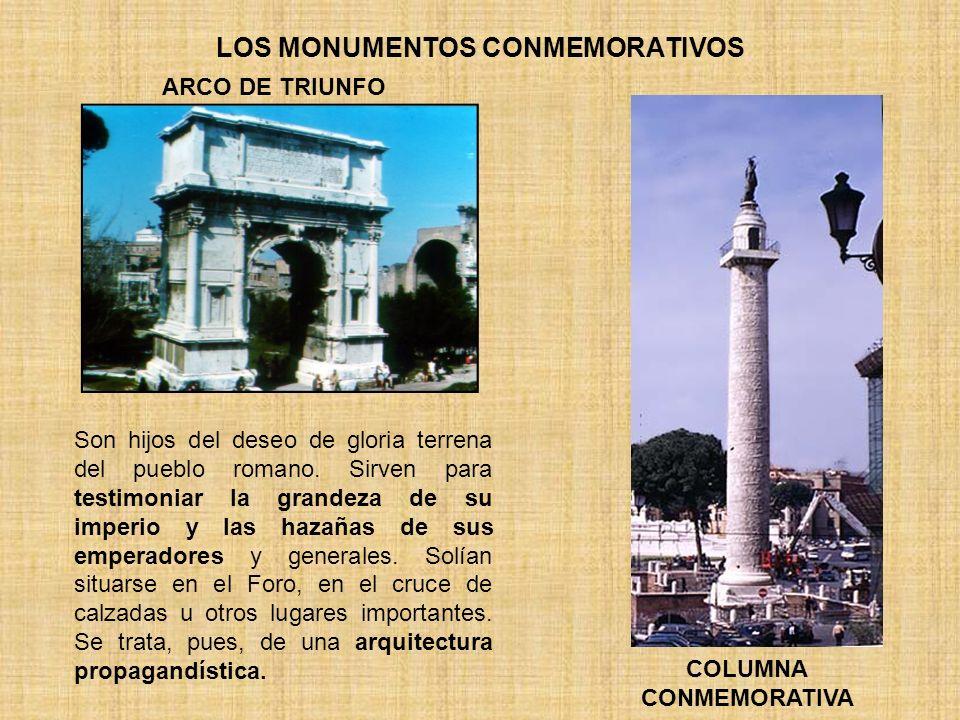 LOS MONUMENTOS CONMEMORATIVOS