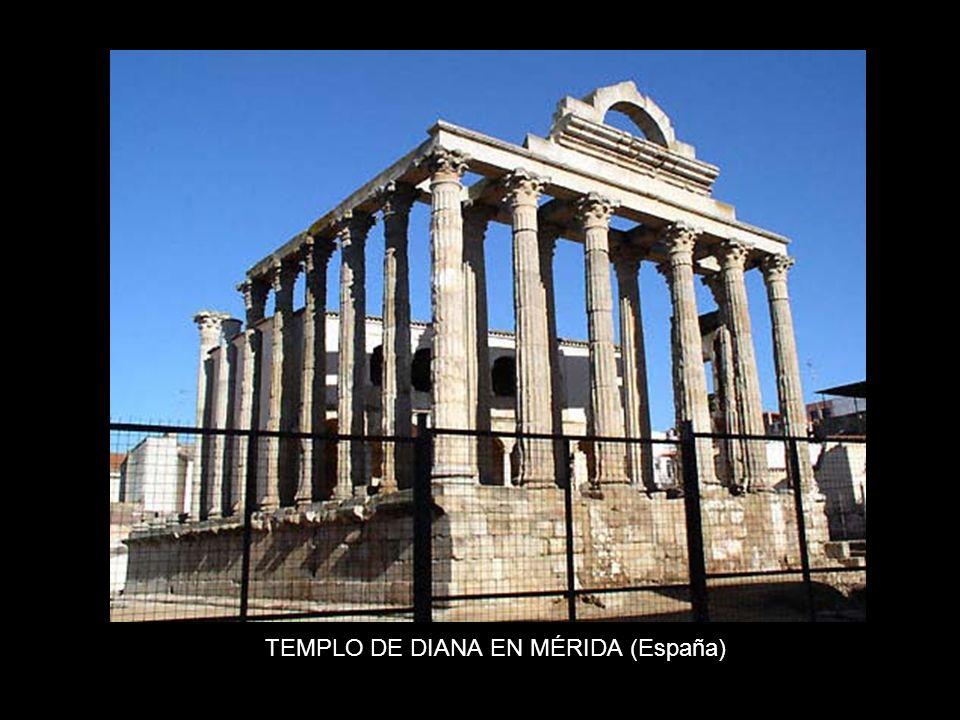 TEMPLO DE DIANA EN MÉRIDA (España)