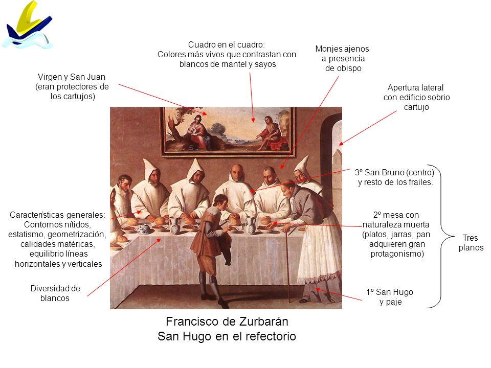 San Hugo en el refectorio