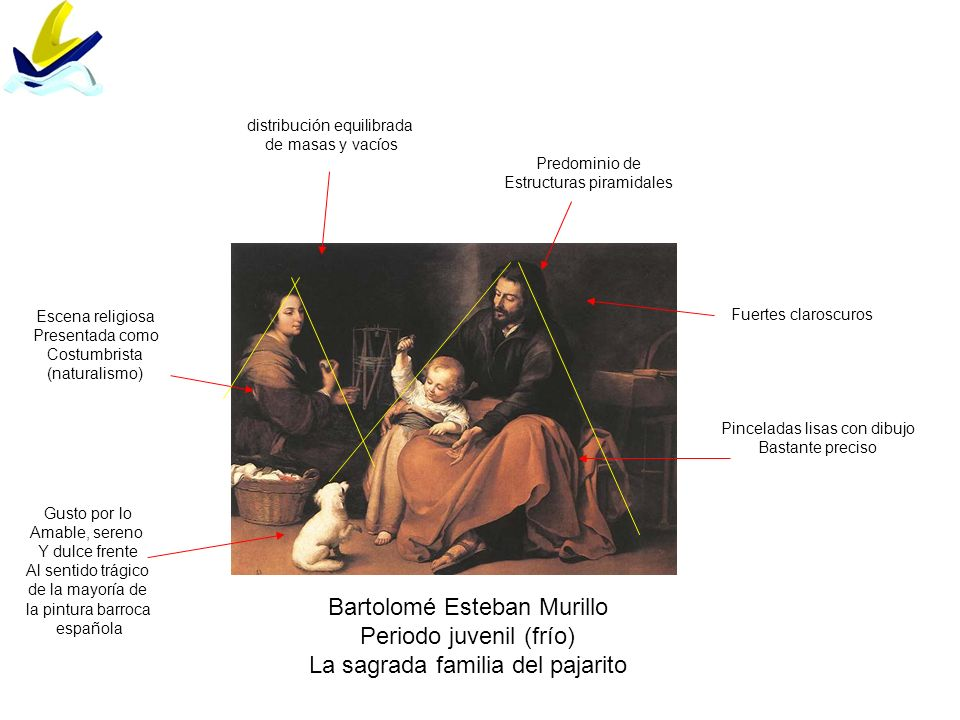 Bartolomé Esteban Murillo Periodo juvenil (frío)