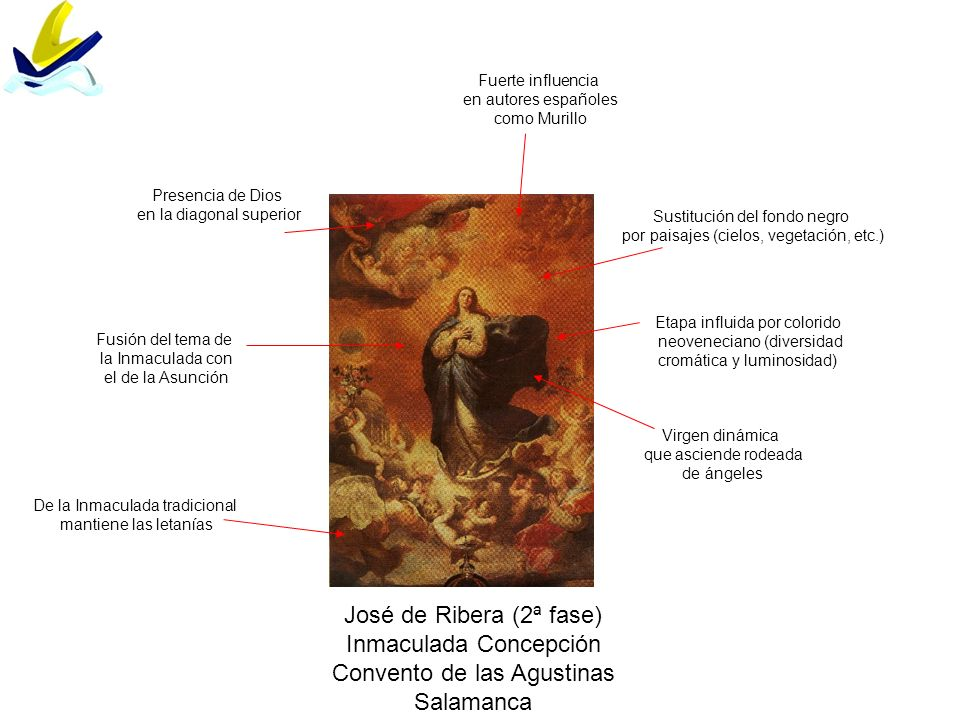 Inmaculada Concepción Convento de las Agustinas Salamanca