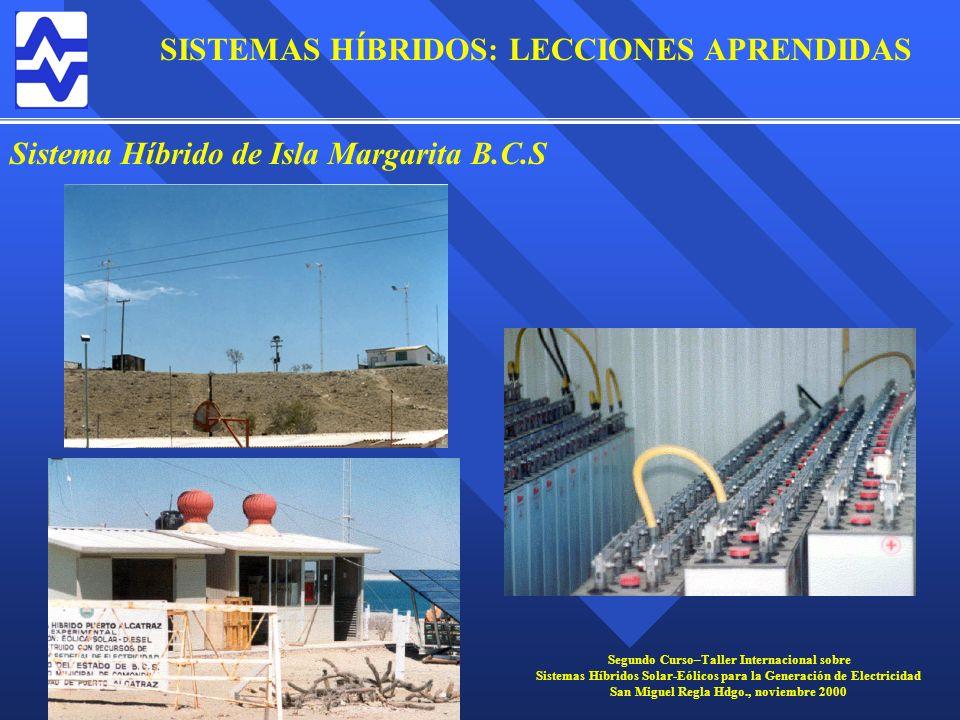 Sistema Híbrido de Isla Margarita B.C.S