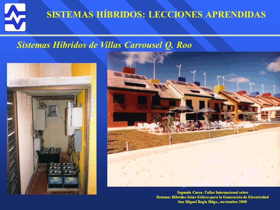 Sistemas Híbridos de Villas Carrousel Q. Roo