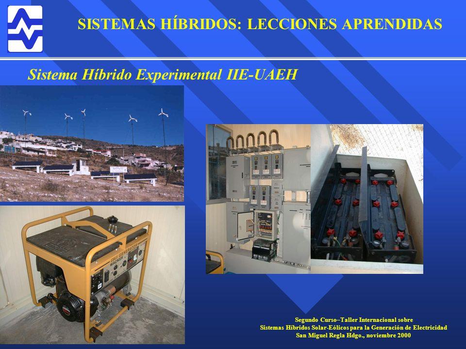 Sistema Híbrido Experimental IIE-UAEH